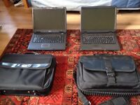 Laptop x2 spares repair with cases. One boots.