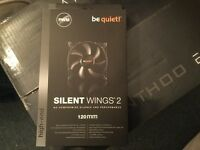 be quiet SILENT WINGS 2 120mm high end Desktop PC fans brand new