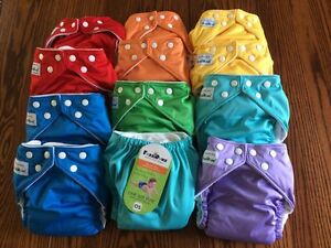 BRAND NEW- Fuzzibunz cloth diapers