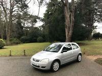 2004 Vauxhall Corsa 1.2i 16v Design 3 Door Hatchback Silver
