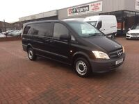 Own this van for £49 p/w @ J&FT&V 🚚👍🏻 March 2013 Mercedes vito 2.2 113cdi lwb blueefficiency.