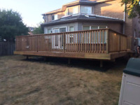 WE WILL BEAT ALL QUOTES ON DECKS AND FENCING