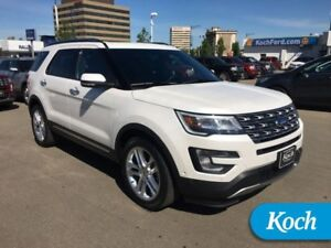 "2017 Ford Explorer Limited  BLIS, Moonroof, Tow Pkg, 20"" Rims, P"