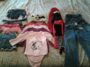 12-18 Girl clothes lot #1
