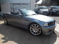 BMW M3 CAB, SMG, LOW MILEAGE.