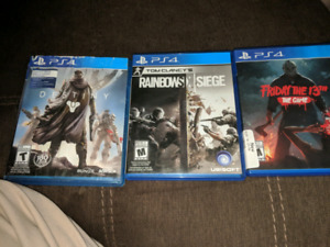 Looking to trade these 3 games
