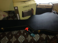 Electric Acoustic Guitar Package W/Amp and Accessories