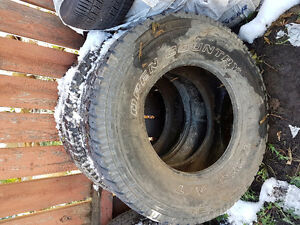 285/70 R17 two tires for sale