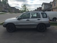 1999 Chevy Tracker 4x4 $1500.00 ASIS.