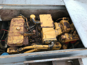 375 cat marine engine twin disc trans