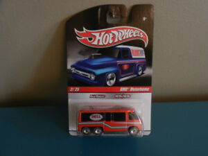 Hot Wheels GMC Motorhome Delivery Series 2009 Real Riders