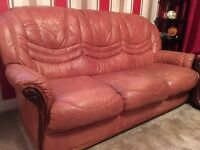 Peach Sofa's looking for a quick sale