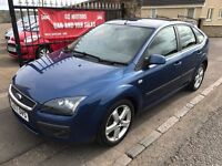 2007 FORD FOCUS ZETEC CLIMATE, 1 YEAR MOT, SERVICE HISTORY, WARRANTY, NOT ASTRA MEGANE 308 GOLF