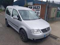 Volkswagen Caddy Silver Wheelchair Access Van Diesel *FINANCE AVAILABLE*Auto
