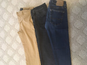 Boys American Eagle jeans and pant