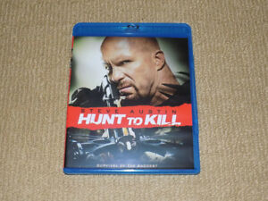 HUNT TO KILL, BLU-RAY, STONE COLD STEVE AUSTIN, EXCELLENT COND.