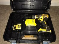 Dewalt 18v lithium battery drill