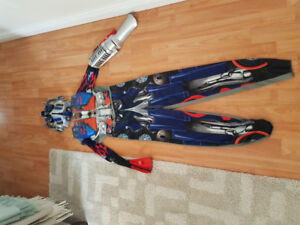 Halloween Costume Optimus Prime.