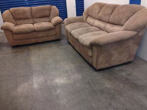 Microfiber Couch SET  -  Delivery