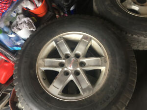 CHAMPIRO 265/70/17 WINTER TIRES LIKE NEW SET OF 4!