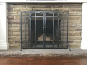 Fireplace Screen - With Doors