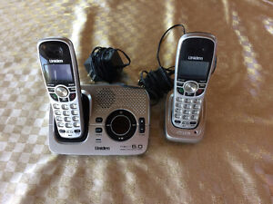 Cordless Telephone Set: Digital Answering System with Caller ID
