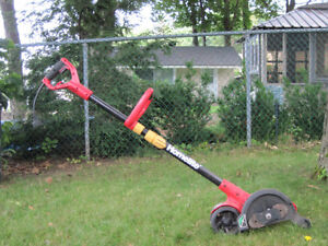 Electric lawn edge trimmer