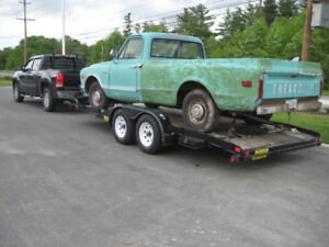 Truck and trailer to Alberta