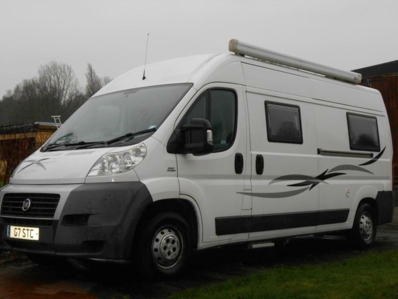 2009 fiat ducato 2 berth end lounge campervan for sale. Black Bedroom Furniture Sets. Home Design Ideas