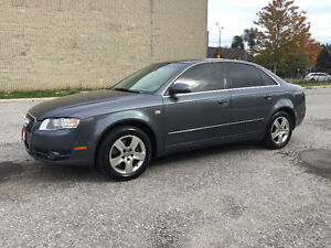 2006 Audi A4 2.0T/Accident Free/Quattro/Certified and E-Tested