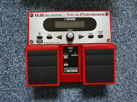 Boss VE-20 Vocal Processor. Amaxing condition