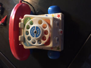 1961 Fisher Price Pull and Play Phone