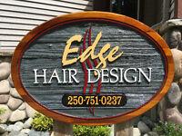 EDGE HAIR DESIGN INC 250.751.0237