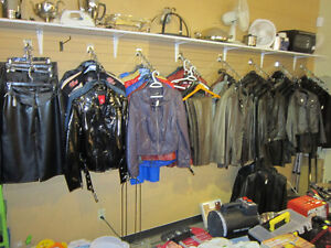 Various Mens' & Ladies Leather Apparel For Sale!!