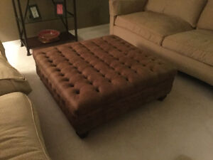 Large Brand New Ottoman Used For Staging Cost over$1000! $495