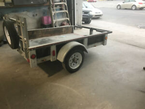 Trailer 5 x4 well maintained
