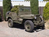 Looking for Jeep Willys parts or parts Jeep