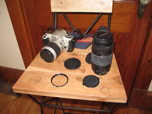 Canon EOS Rebel 2000 35mm SLR Film Camera with 300mm Zoom