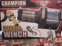 treuil ( winch ) 3000lbs neuf