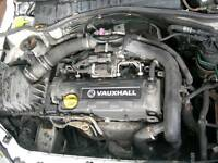 Vauxhall 1.7di complete engine and gear box