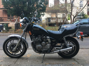 1982 Yamaha Maxim 550 cool as hell you should buy it - $1400 OBO