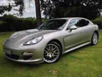 2012 62 Porsche Panamera 3.0 TD V6 Tiptronic S 5dr DIESEL SALOON SILVER