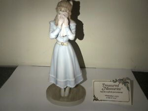 """Treasured Memories Hand Crafted Porcelain """"Wednesday's Child"""""""