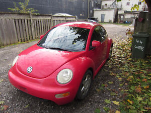 1998 Volkswagen New Beetle TDI Coupe (2 door)