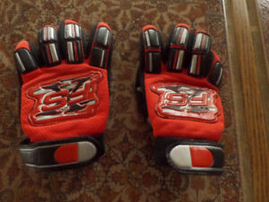 FX kids small motocross BMX dirt bike gloves