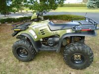 ONLY 2550 KILOMETERS ON THIS 4 X 4 POLARIS SHOWROOM CONDITION