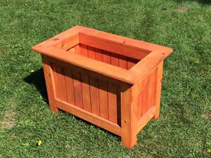 Solid Pine Planter Box Handcrafted Locally
