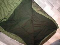 Fishing sleeping bag mint condition