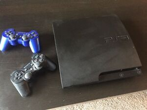 PS3 320gb with games and two controllers