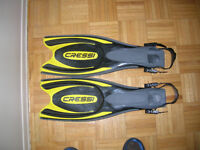 Scuba Diving Fins and Boots